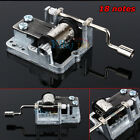 Many Songs!Mechanical Hand Crank Musical/Music Box Movement DIY Accessories Hot