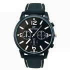Fashion Mens Watch Stainless Steel Sports Cool Quartz Analog Hours Wrist Watch