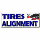 Tires Alignment 13 Oz Vinyl Banner Sign With Grommets