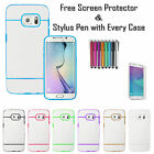 Stylish Lines Soft Silicone Gel Grip Back Tpu Case Cover For Samsung Galaxy S7