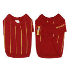 Pet Dog Spanish Spain National Team Jersey Clothes Costume T Shirt