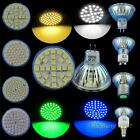 3/4/5W LED Bulb MR16 GU10 E27 Day/Warm White Blue/Green Ligth Spotlight Lamp Y8