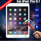 9H Premium Tempered Glass Screen Protector Film For Apple iPad Pro 9.7 Tablet PC