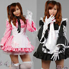 Cosplay Luxury Palace Princess Sexy Servant Maid Outfits Party Dress Apron Set