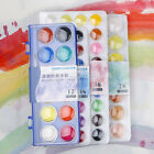 Simbalion 12/16/28/36 Colors Set Watercolor Cakes Solid WaterColor Paint forArt