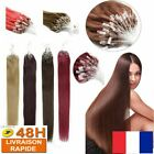 50 100 150 extensions de cheveux pose a froid easy loop naturels remy 53cm aaa