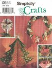Simplicity 0654 Christmas Decorations   Sewing Pattern