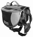 US LOCAL Pet Dog Outdoor Hiking Camping Saddle Bag Backpack Harness Back Pack
