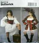 Butterick Sewing Pattern 6114 Ladies Goth Pirate Cosplay Costume Pick Size