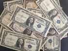 1935 One Dollar Well Circulated Silver Certificate Blue Seal Note - $1 Bill
