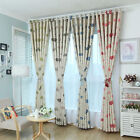 Floral Tulle Voile/Blackout Curtains Window Polyester/Voile Curtain Drape Panel