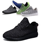 Men Lace Up Lightweight Fashion Breathable Sneakers Women Athletic Running Shoes