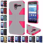 For Kyocera Hydro View C6742 Reach C6743 Dynamic Hybrid Dual Layer Cover Case