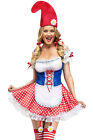 Sexy Garden Gnome Costume Lc8927 Maid Role Play 2016 High Fashion New Arrival