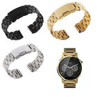 Stainless Steel Watch Band Strap for Motorola Moto 360 2nd Gen Men's 42mm  image