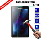 9H Tempered Glass Tablet Screen Protector Shield for Lenovo ideaTab  Tab 2 Tab 3