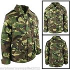 KIDS CAMOUFLAGE COAT PADDED CAMO JACKET RIPSTOP COTTON BOYS MILITARY AIRSOFT