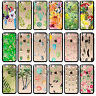 Parrot Flamingo Tropical Plant TPU Bumper Hard Back Case For Iphone6S 6 6Plus 5C