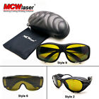 HQ OD4+ 190-450nm & 800-2000nm Laser Protective Goggles Glasses CE Eagle pair