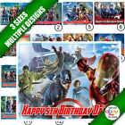 Marvel's Avengers Icing Sheet Printed Cake Topper a