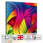 COLOUFUL ABSTRACT MODERN CANVAS WALL ART FRAMED PRINT PICTURE PHOTO HOME DECOR