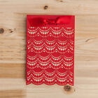 Red Wedding Invitations Cards with Envelope, Seal, Free Personalized Printing