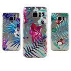 3Pcs Floral Coconut Soft Gel Silicone Case Cover For Samsung Galaxy S7 S7 Edge