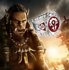 HOT! Stainless Steel World of Warcraft Inspired Horde Ring WOW