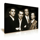 Goodfellas Gangster Family Movie Modern Wall Art Canvas Sepia