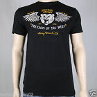 Secret Artist Freedom Of The West SA182 Men's T-shirt Black by Affliction