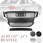 RS5 HONEYCOMB SPORT FRONT MESH GRILLE for AUDI A5 C5 S5 8T 07-11 5 VERSIONS