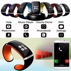 Bluetooth Wrist Acute Bracelet Watch Phone For IOS Android Samsung iPhone HTC LG