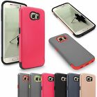For Samsung Galaxy S6 Edge G925 Rugged Shockproof Rugged Rubber Hard Cover Case