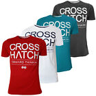 Crosshatch Roshaun Mens T Shirt New Cotton Short Sleeved Branded Tee Top