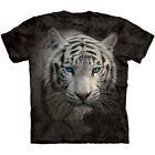 The Mountain WHITE TIGER REFLECTION Siberian Face T-Shirt S-3XL NEW