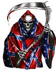 GRIM REAPER DECAL GRAPHIC STICKER VARIOUS SIZES