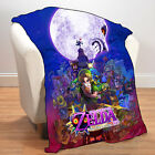 New Legend of Zelda Majora's Mask Fleece Throw