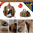 NEW Pet Dog Outdoor Travel Hiking Camping Bag Backpack Harness Canvas Rucksack
