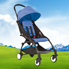 New Pushchair Lightweight Mini Baby Stroller Buggy From Birth Blue In Stock