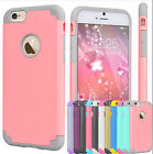 NEW 2 in 1 Shockproof Rugged Hybrid Rubber Hard Cover Case For iPhone 6 6S  Plus