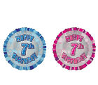 """HELIUM 18"""" Foil Balloon 1-18 Age Happy Birthday Party Balloons Pink Blue +WEIGHT"""