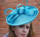 turquoise ladies hats wedding