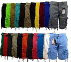 Men's Cargo Shorts with Belt Focus 32 34 36 38 40 42 44 Casu