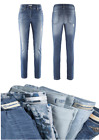 Stehmann-Jeans-Anna748W-destroyed im used Look-indigowash-Gr. 34-44