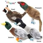Grriggles Squawk Flock Dog Toys Large Plush Wild Birds Puppy Chew Toy with Sound