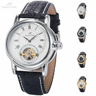 KS 2 Colors Bridge Fitted Movement Automatic Mechanical Men Sport Wrist Watch