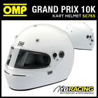 SALE! SC765 OMP GRAND PRIX 10 K HELMET KART KARTING FULL FACE SNELL K-2010