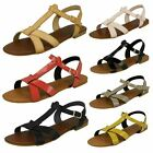 SAVANNAH LADIES BUCKLE FASTENING SUMMER SANDALS- *6 COLOURS* F0683 CC