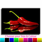 Chilli Pepper Kitchen Food Canvas Print Picture Various Sizes 1