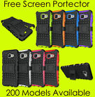 Samsung Galaxy Heavy Duty Tough Shockproof With Kickstand Hard Case Cover